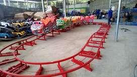 RA Kereta lantai mini coaster  jual wahana odong odong kereta Panggung