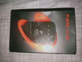 Airtel my wifi super fast  4g new box pack and bill