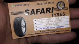 We are sell old and used tyres