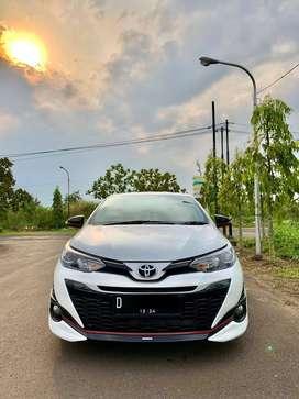 KM13RB- Toyota Yaris TRD S 1.5 AT 2019 /2020 Matic Putih Dp40JT ,NO PR