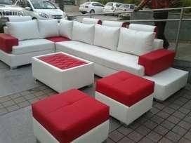 Brand New L-shaped design sofa set