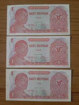 Uang Kuno Rp.Rp.1,- (1968)