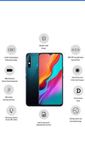 Infinix hot 8 with full box Oct 8the purchased