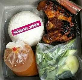 Nasi boxs Lampung (Halal & Nikmat)