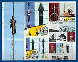 agen toko ahli instalasi pemasangan penangkal petir area Bandung
