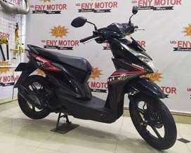 Kredit murah Honda New Beat FI ESP Th.2018 km rendah unit muluz