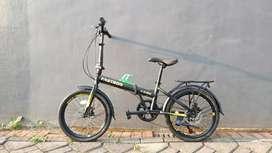 Sepeda Lipat Folding 20 Fastron F-2302
