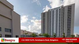 2 BHK, 3 BHK apartments FOR SALE in Off Kanakpura Road, Bangalore