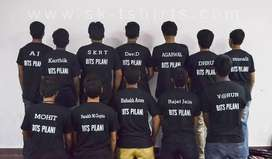T shirts for different events