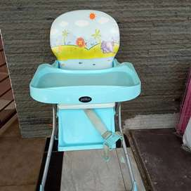 Baby chair pliko blue