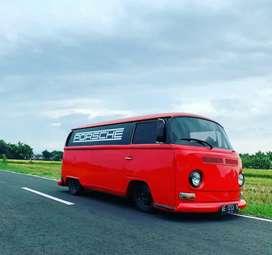 VW Kombi merah 1969