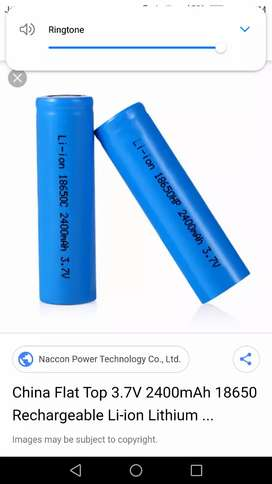 37 volt battery rechargeable