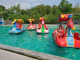 sepeda air odong goyang bebek fiber kereta mall