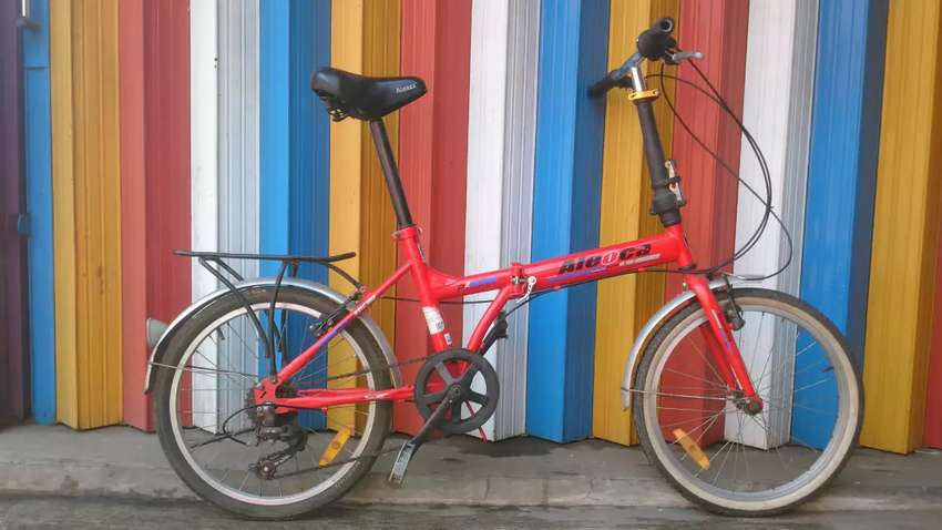 """Sepeda lipat aleoca20"""" 0"""