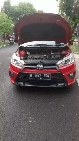 New Yaris S TRD 2015 AT Red Series Edition Tdp Rendah