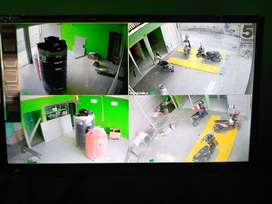 ~Paket CCTV komplit 4 channel 1080p hasil bening