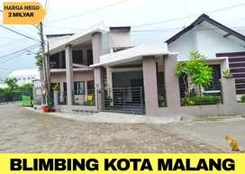 Rumah dijual dekat kampus di Borobudur blimbing kota Malang