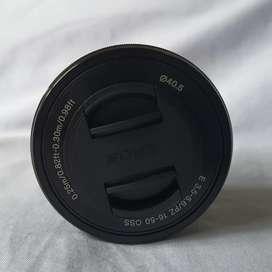 Lensa kit sony 16-50 mm