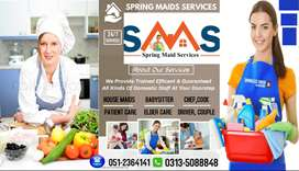 House Maids Babysitter Patient Care Chef,Cook Driver Couple Helper etc