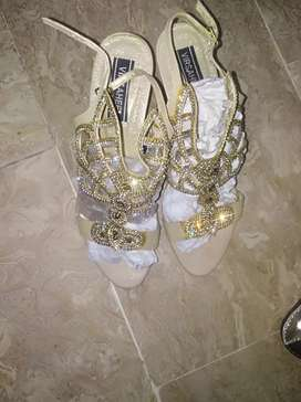 Fancy heels and Nishat shoes