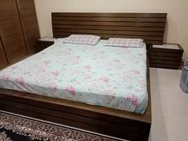 Bed avaliable with matress slightly used