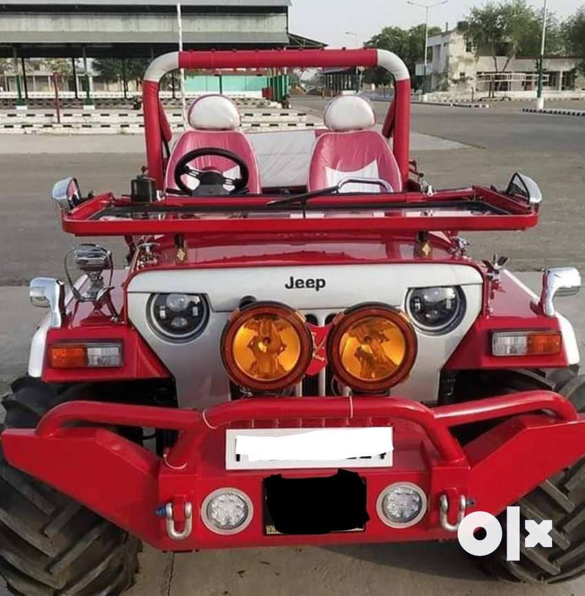 Angry bird grill Red painted jeep 0