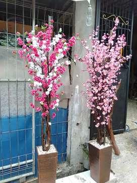 Jual Bunga Pohon Sakura Plastik Artificial
