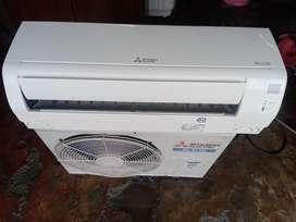 1 Ton Mitsubishi Split Air-conditioner Available