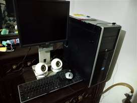 Core i-5 500 GB Hard disk, 2GB RAM, with keyboard, mouse, LCD, speaker