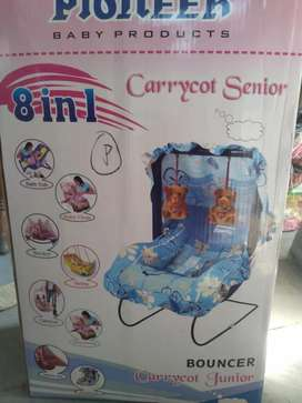 Baby carry cot and baby bather