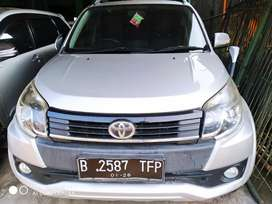 TOYOTA RUSH G AT/MATIC 2015 SILVER