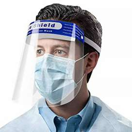 Face shield 20rs per piece only
