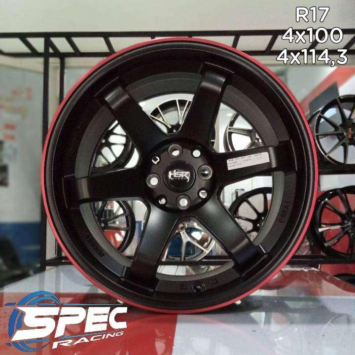 Pelek Mobil Vios Racing R17 HSR Bisa Dicicil Di Toko Velg Mobil Medan
