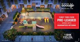 1 bhk for sale at 23.23 lakh(all incl), Katvi midc road, talegaon