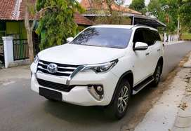 Toyota Fortuner SRZ 2016 AT Putih Istimewa