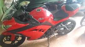 Jual motor kawasaki ninja 250cc tahun 2013