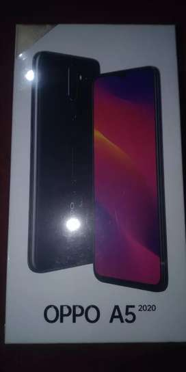 Oppo A5 2020, 4/128 GB,  Black Color, Just Box Open