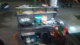 Chaat counter/chulha counter