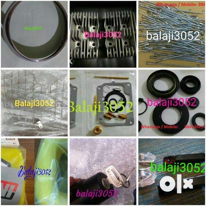 Rajdoot Yamaha RD350 Spares Parts Available All 0