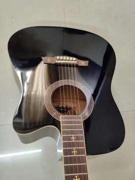 Acoustic Guitar (crusader) with foam padded bag