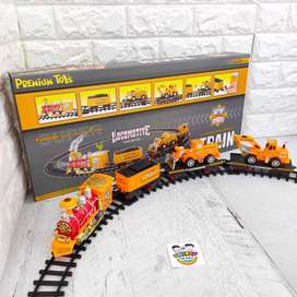 Kereta Api Set Mainan Anak Train Asap