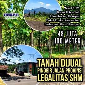 Dijual Tanah Kavling SHM di Bogor Jl Raya Transyogi