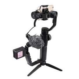 Mount Holder Breket L Lampu / Mic untuk kamera atau gimbal stabilizer