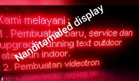 Running textled.,,