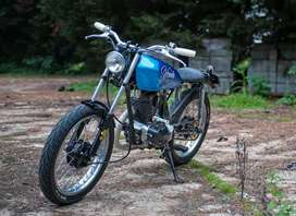 Cafe racer making on 125cc and 150cc