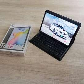SAMSUNG GALAXY TAB S6 LITE . MASIH GARANSI SEIN. 1 set Targus Keyboard
