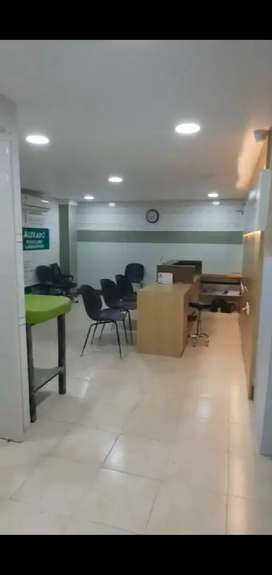A/C Fully furnished clinic facility for rent