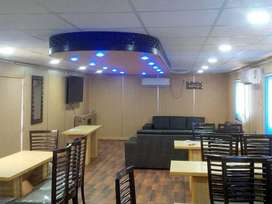 Restaurant cabin container/shopping centre and Resort Extension