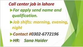 we are hiring for call center job