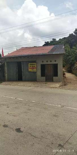 Rumah + Tempat usaha dijual